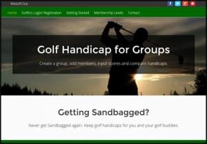 Golf Handicap for groups