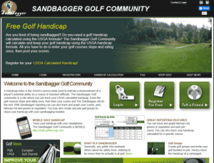 golf handicap tracking community