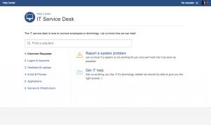 JIRA Service Desk Configuration